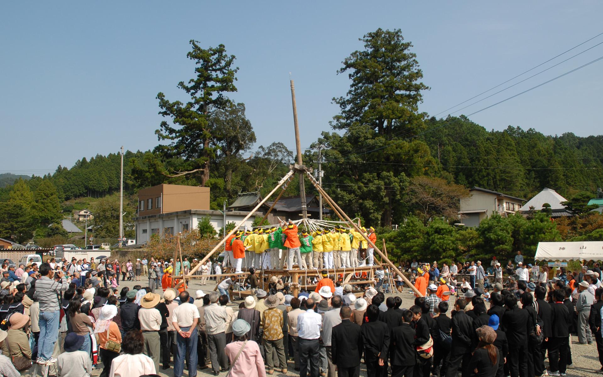 国民文化祭棒搗き