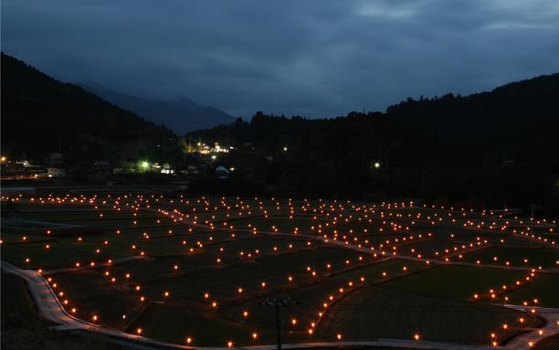 鬼籠野灯りのオブジェ 12月