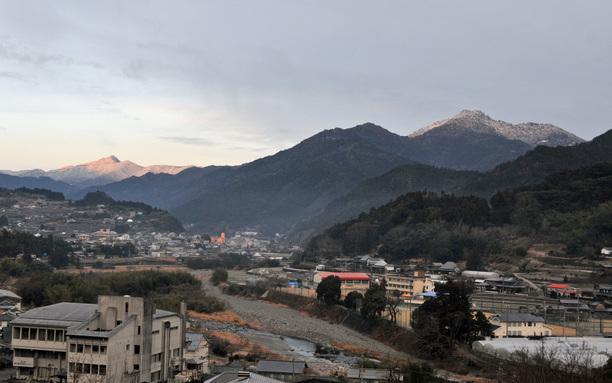 東宮山から焼山寺山 2月