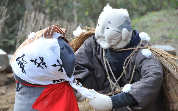 阿川かかし(笠地蔵)11月